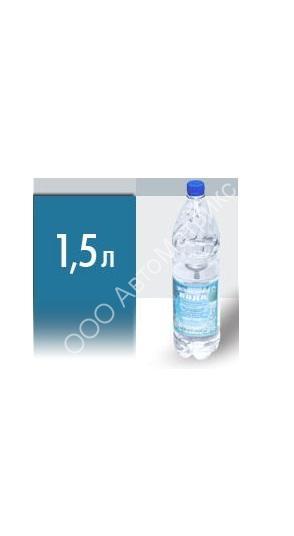 Вода дистиллированная 1.5л. купить в интернет-магазине АвтоМатрикс