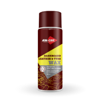 AIM-ONE DL-250 Dashboard Leather and Tyre Wax 450ml. Полироль пластика и кожи.