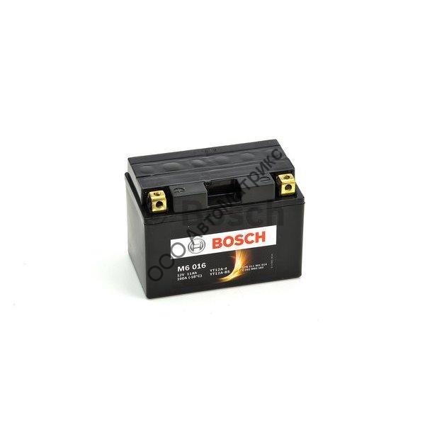 YT12A-BS 12V AGM 11A//h-160A Bosch M6016 Batterie moto YT12A-4