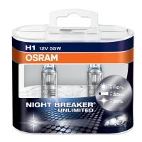 OSRAM 64150NBU BOX NIGHT BREAKER UNLIMITED H1 12V 55W (P14.5S) 2 шт.